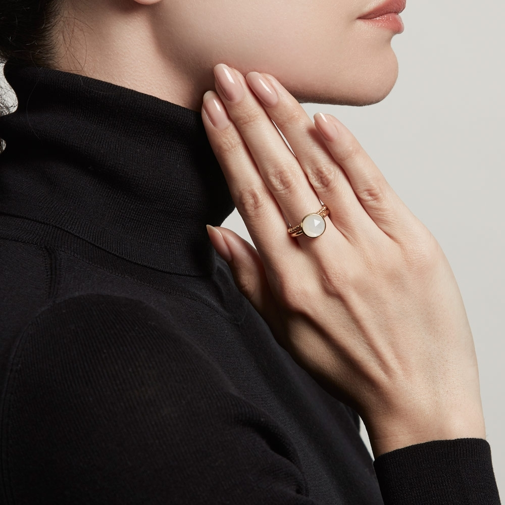 Lunar Stilla Ring Stack