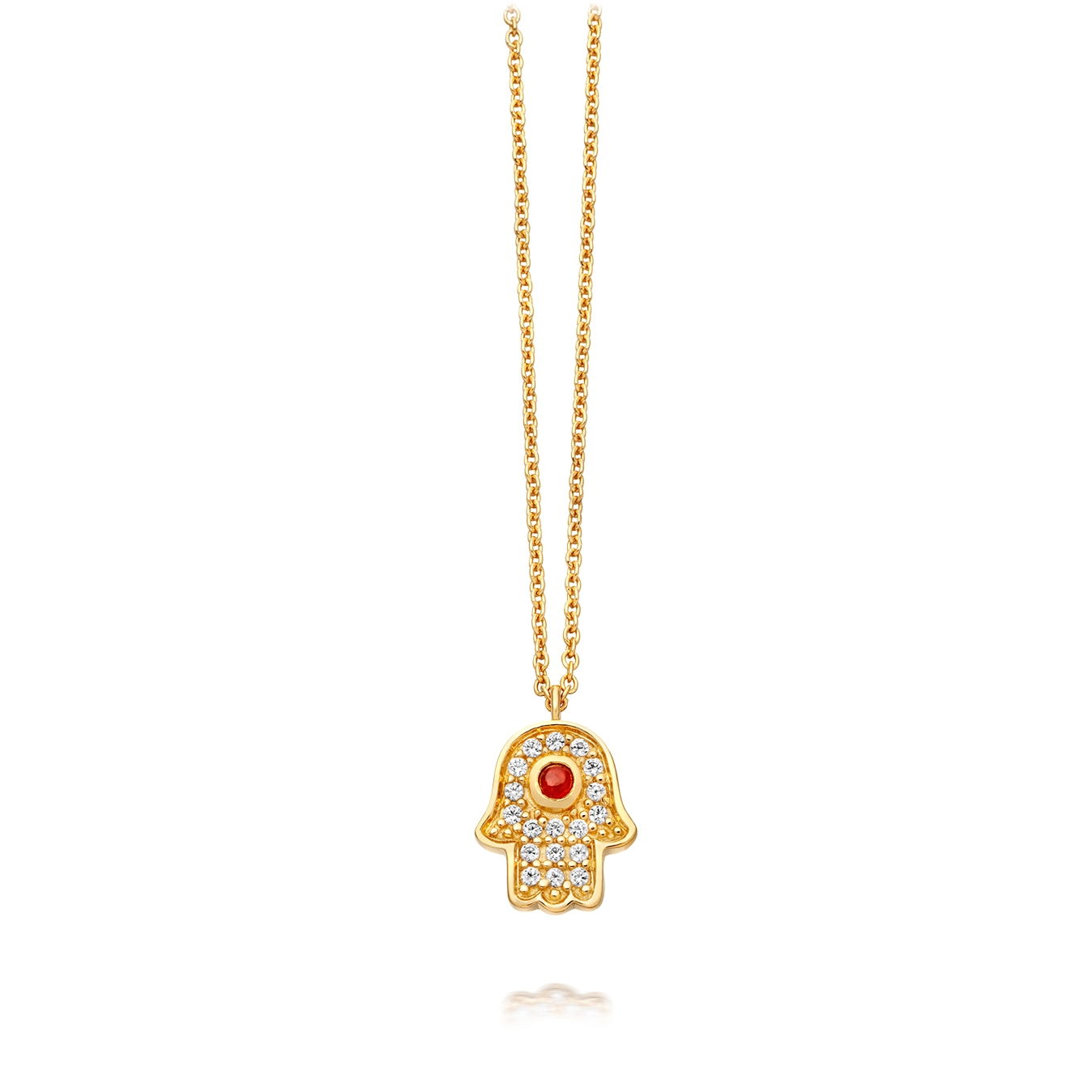 Mini Hamsa Biography Pendant