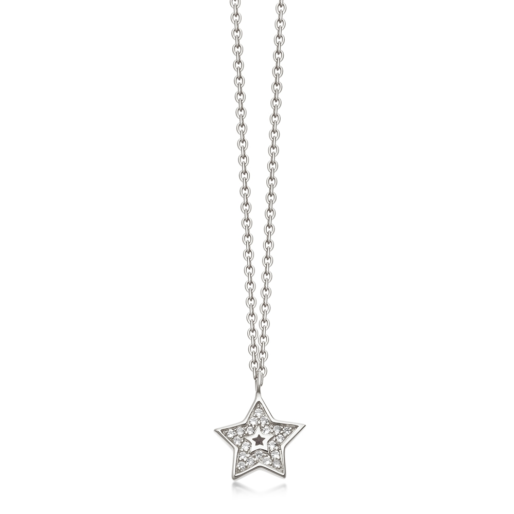Mini Star Biography Pendant