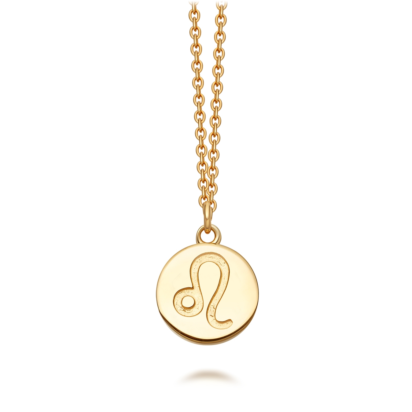 Leo Zodiac Biography Pendant