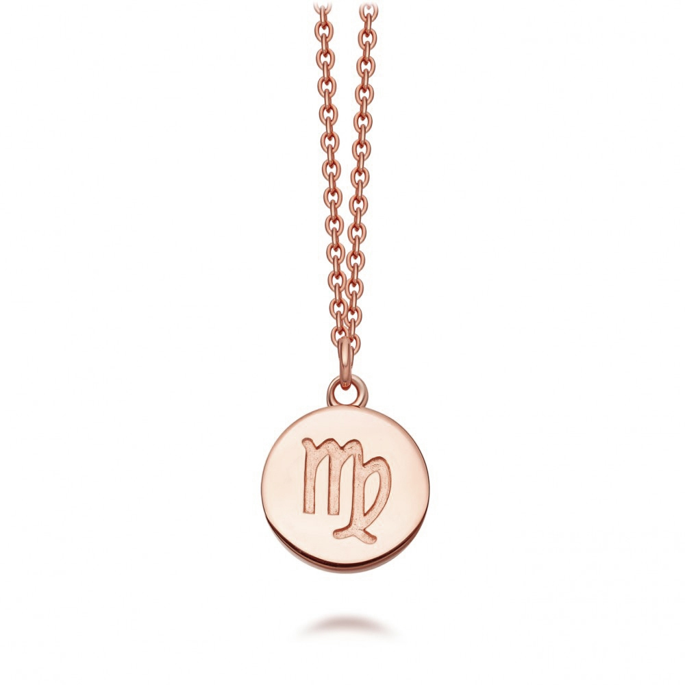 Virgo Zodiac Biography Pendant