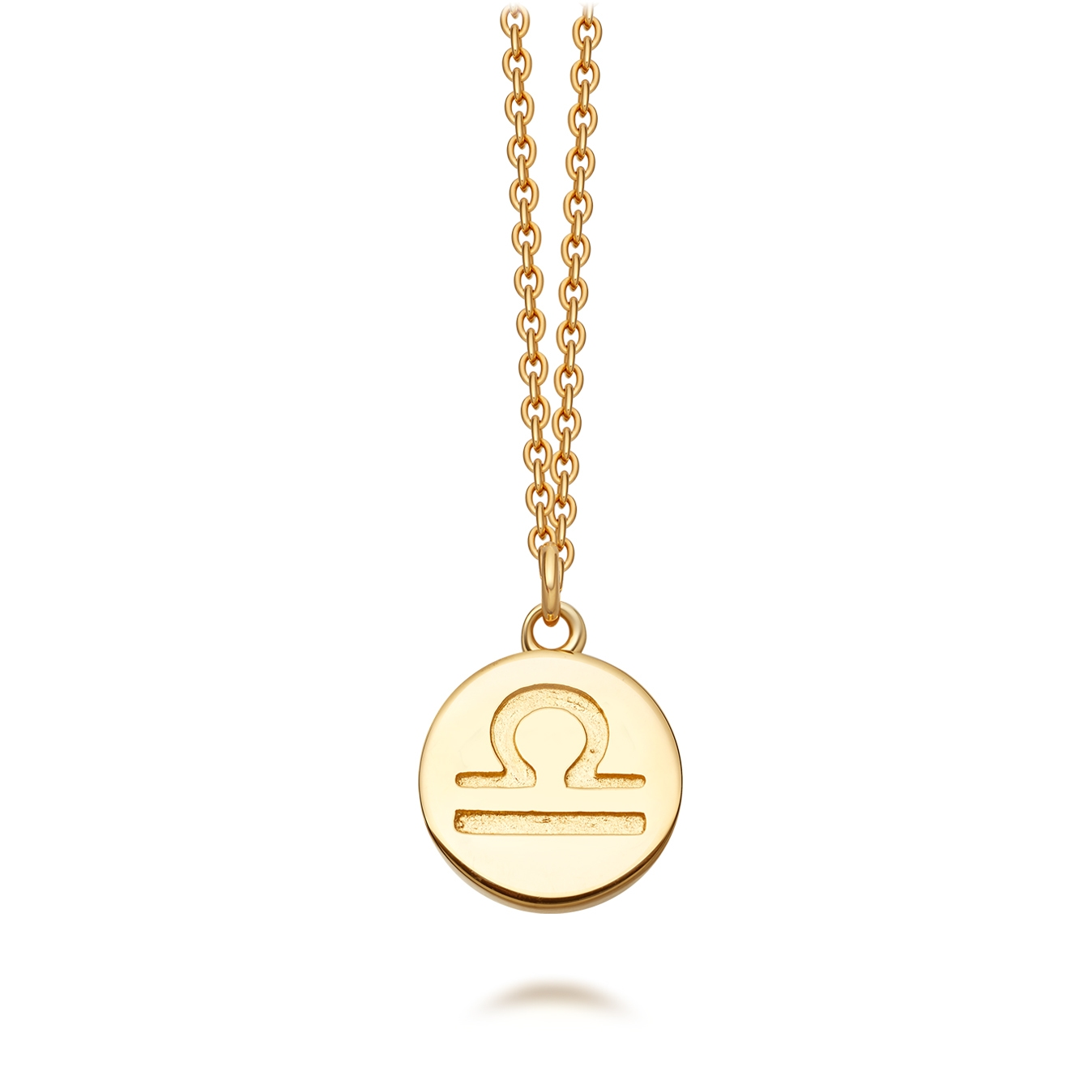 Libra Zodiac Biography Pendant