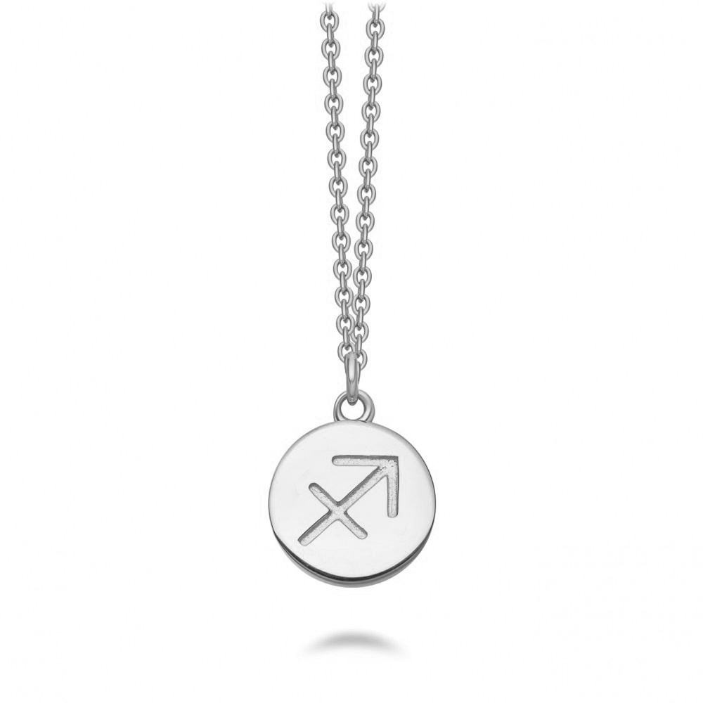Sagittarius Zodiac Biography Pendant