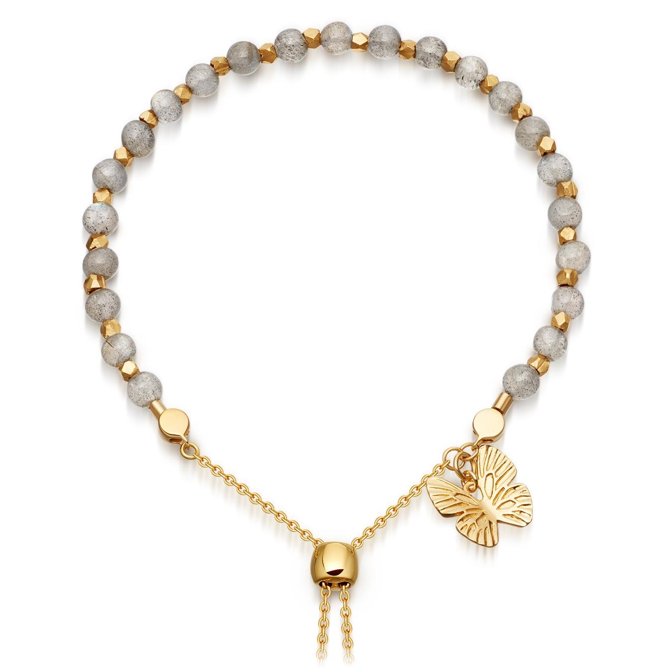 Labradorite Super Kula Butterfly Bracelet