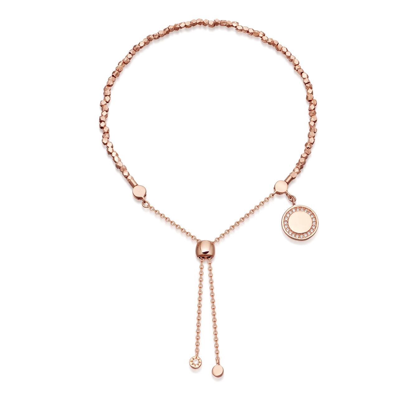 Pink Woven Kula Bracelet Stack