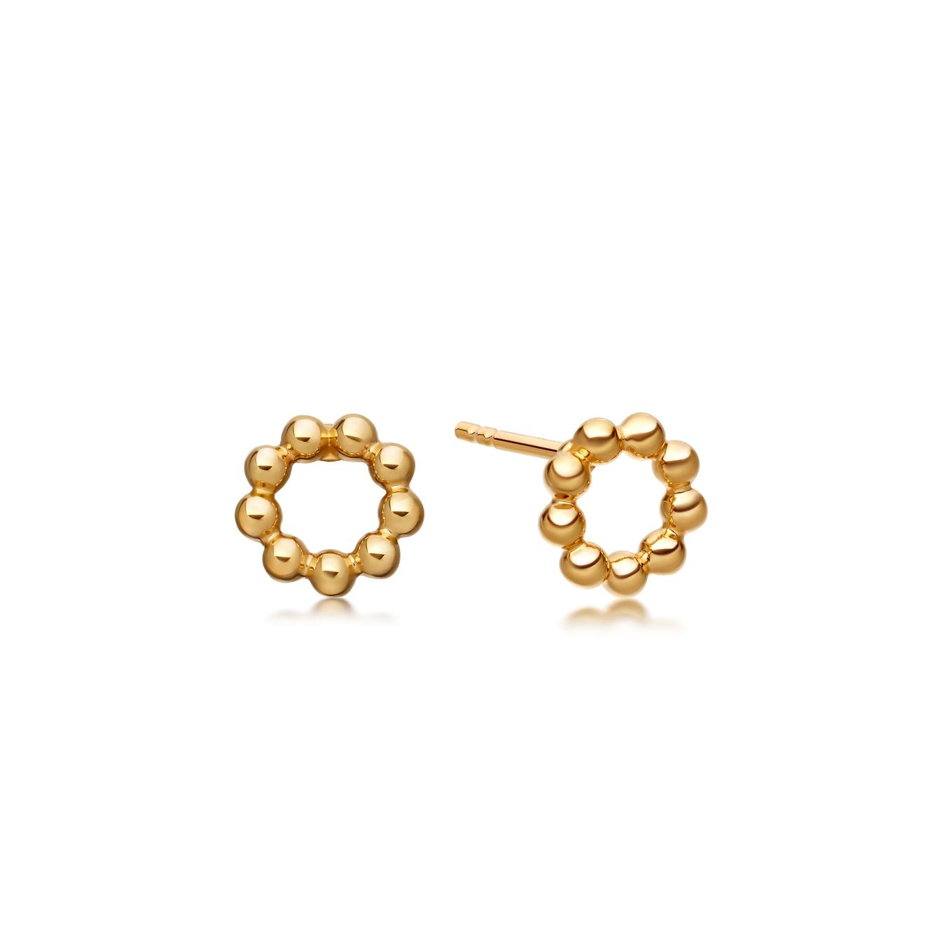 Beaded Stilla Stud Earrings