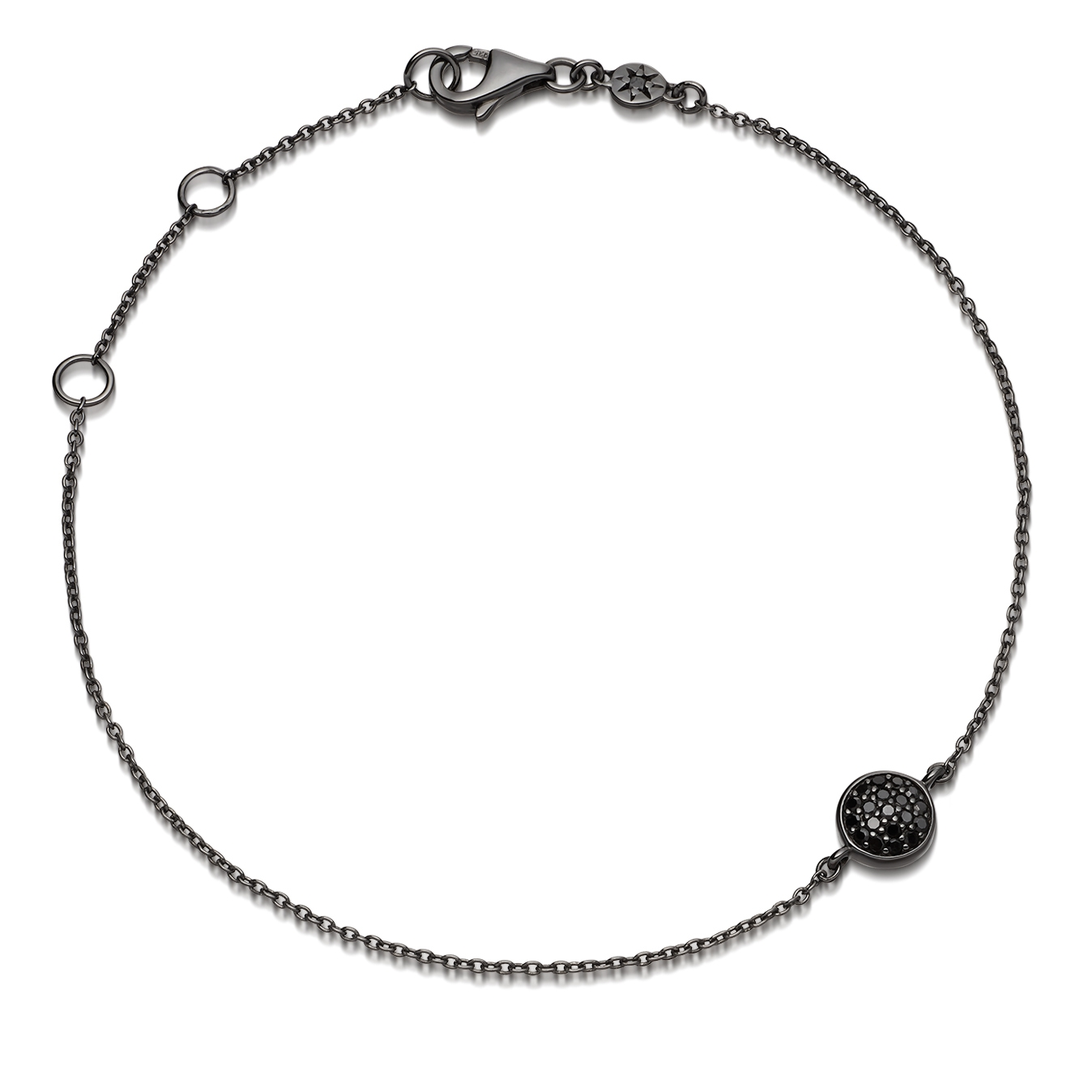 Black&Black Mini Icon Bracelet