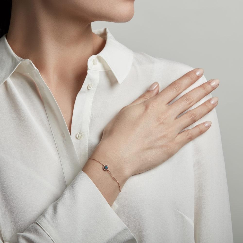 Opal Mini Icon Aura Bracelet