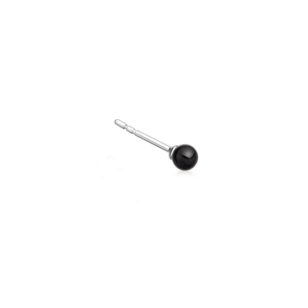 Black Onyx Peggy Single Stud Earring