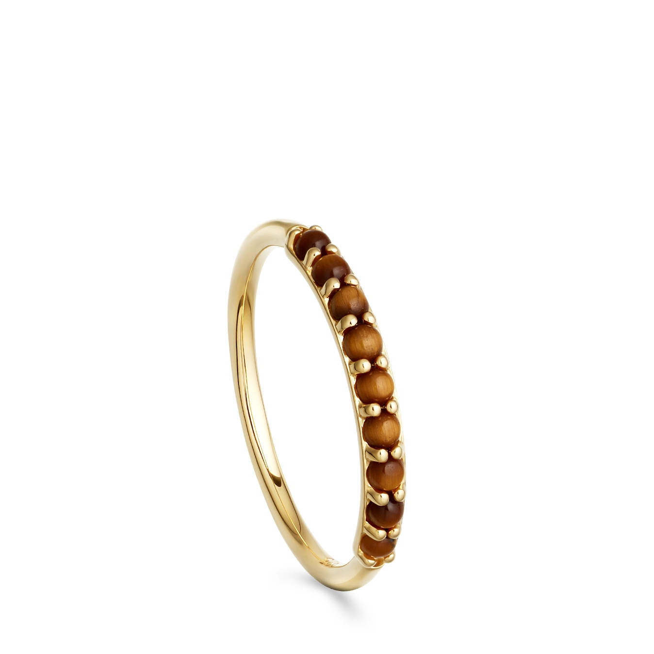 Tigers Eye Hedda Ring
