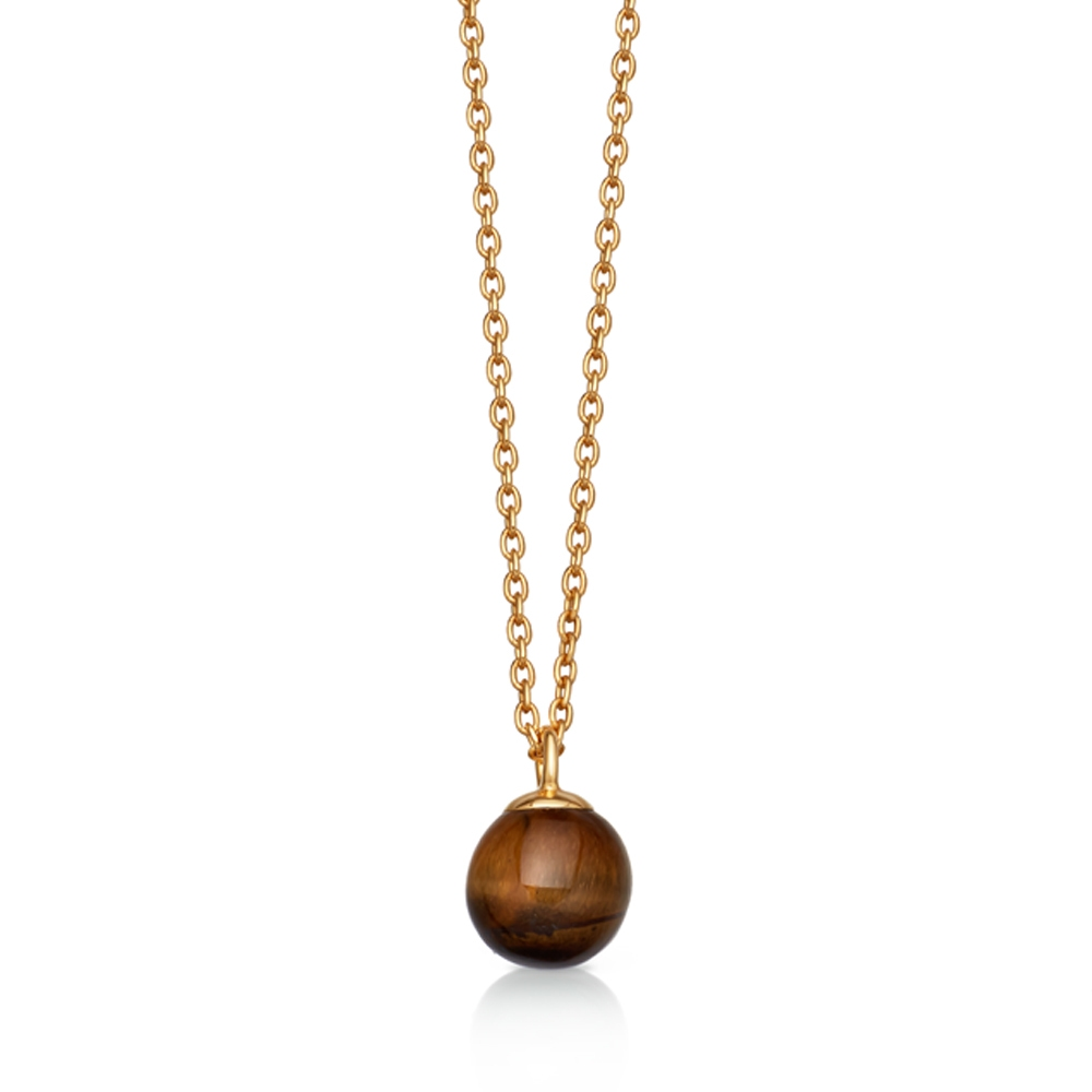 Tigers Eye Peggy Pendant Necklace