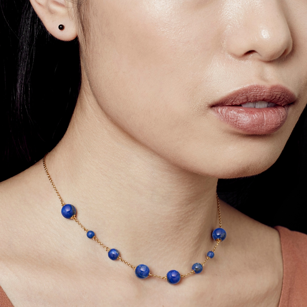 Lapis Peggy Necklace