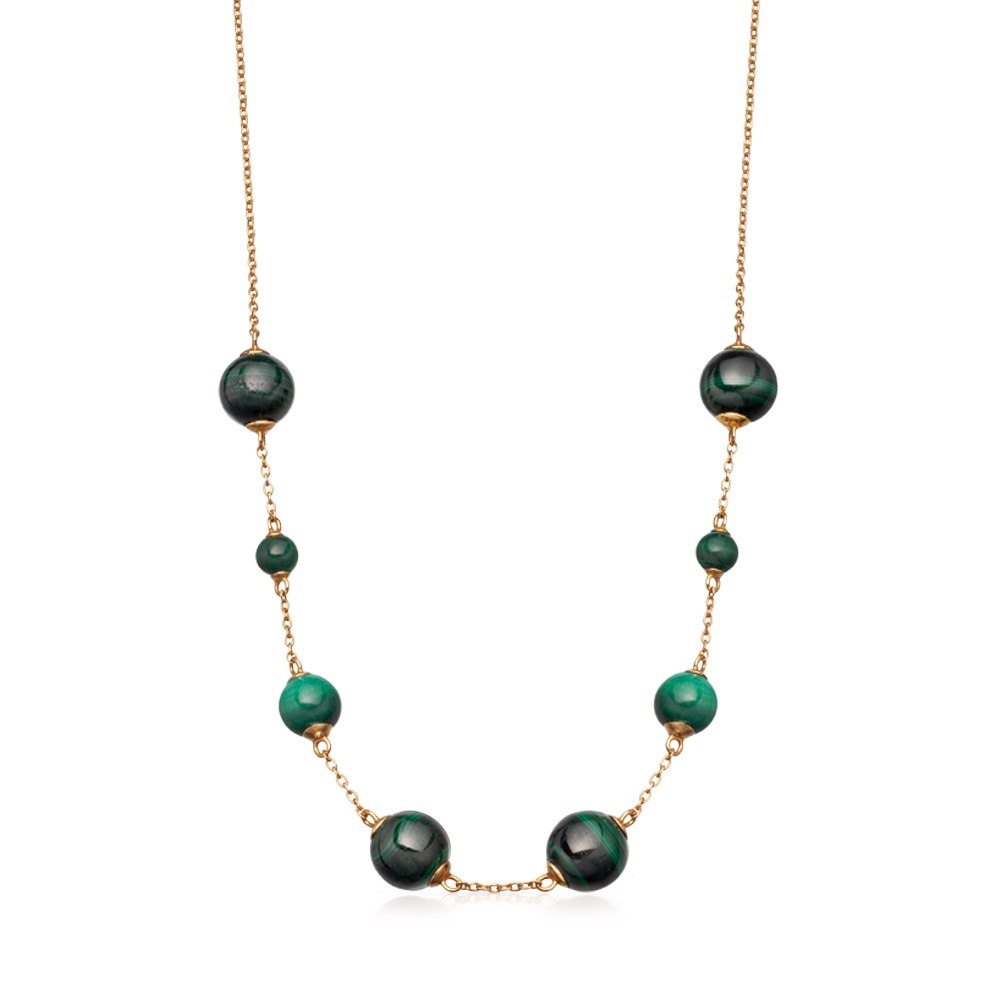 Malachite Peggy Necklace