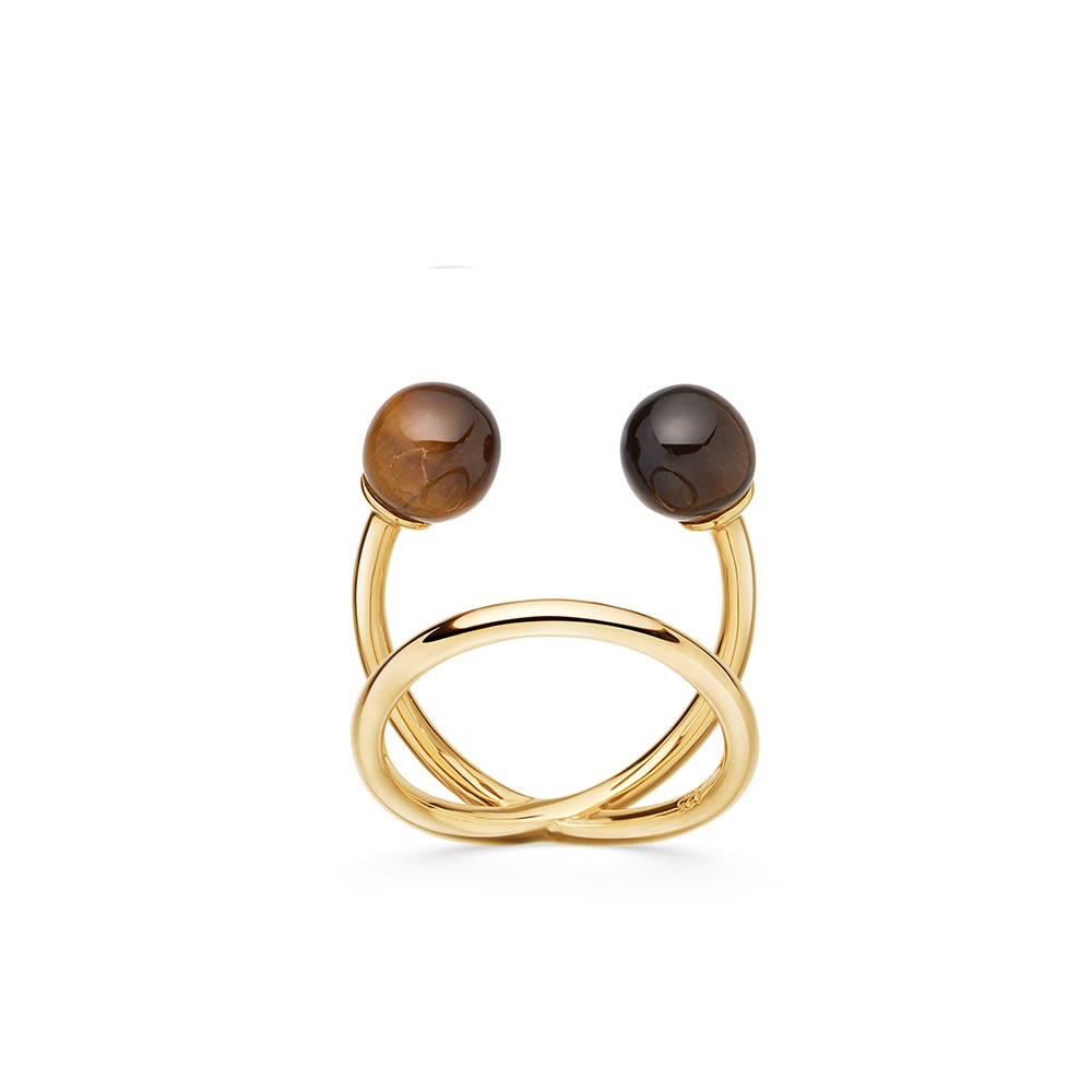 Tigers Eye Yves Ring