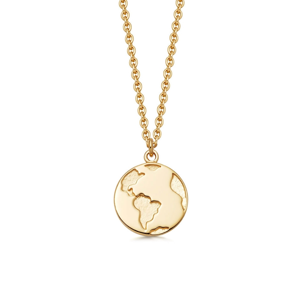Earth Biography Pendant