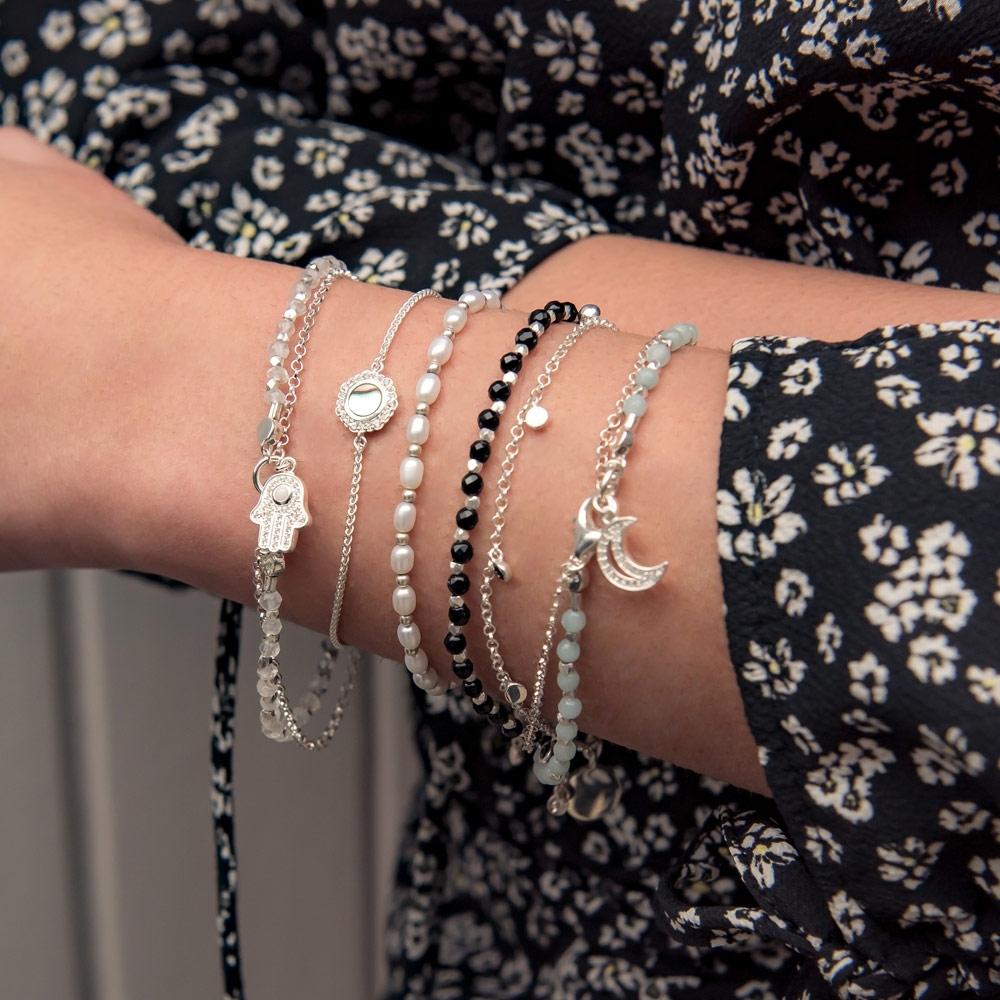 White Pearl Kula Bracelet