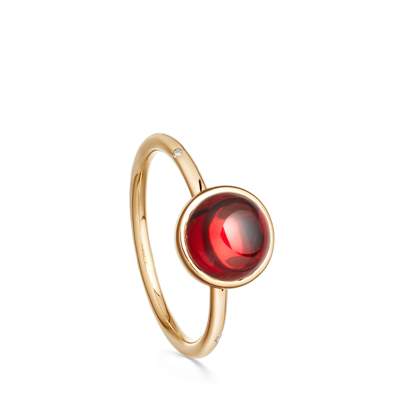 Garnet Mercury Ring