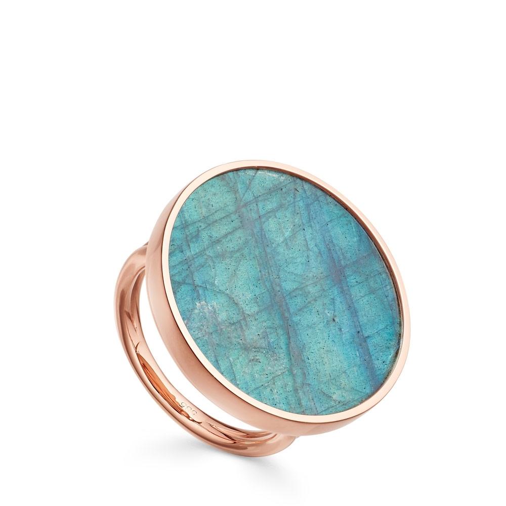 Labradorite Jupiter Ring