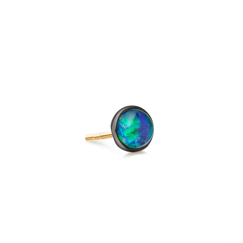 Opal Uranus Single Stud Earring