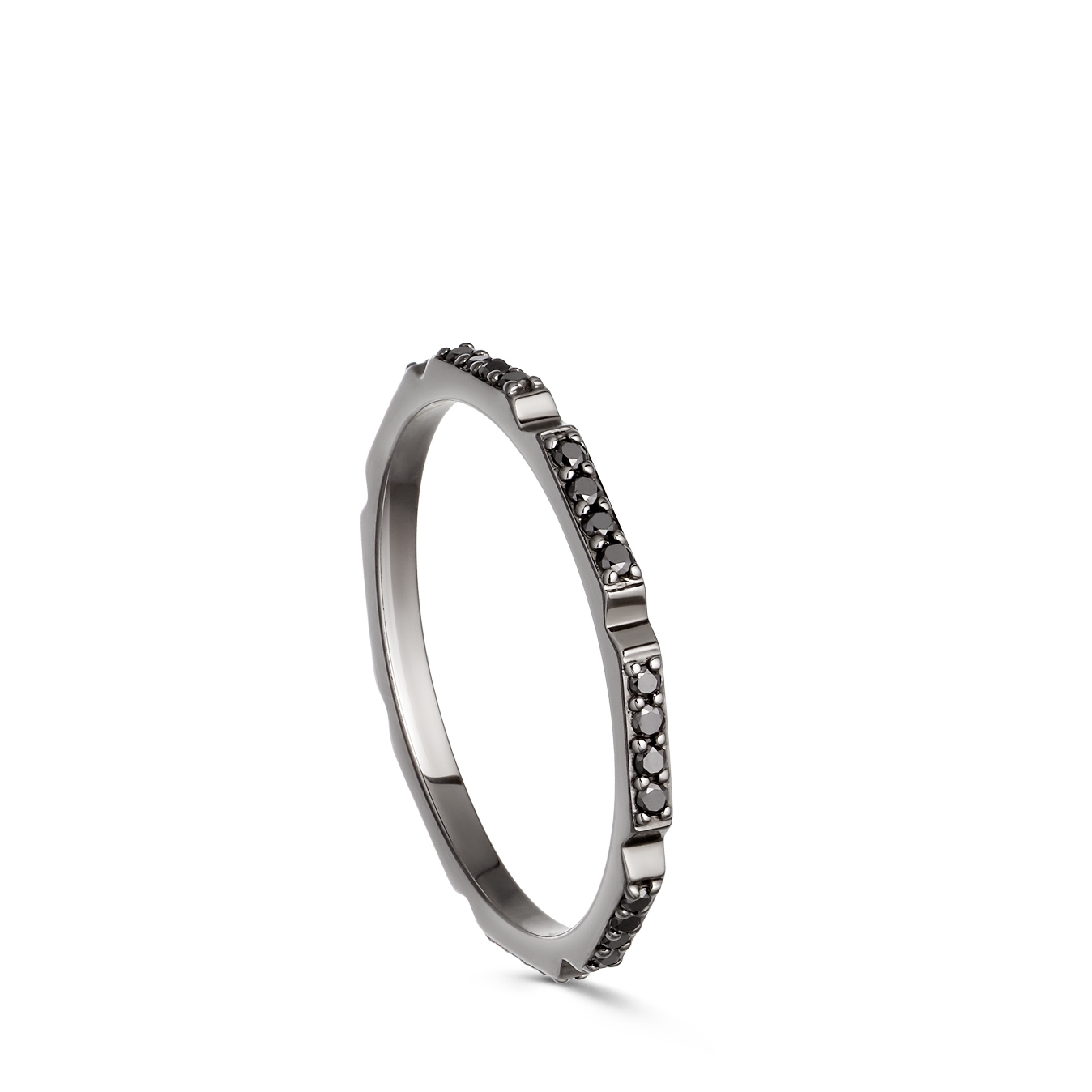 Aubar Black Diamond Ring