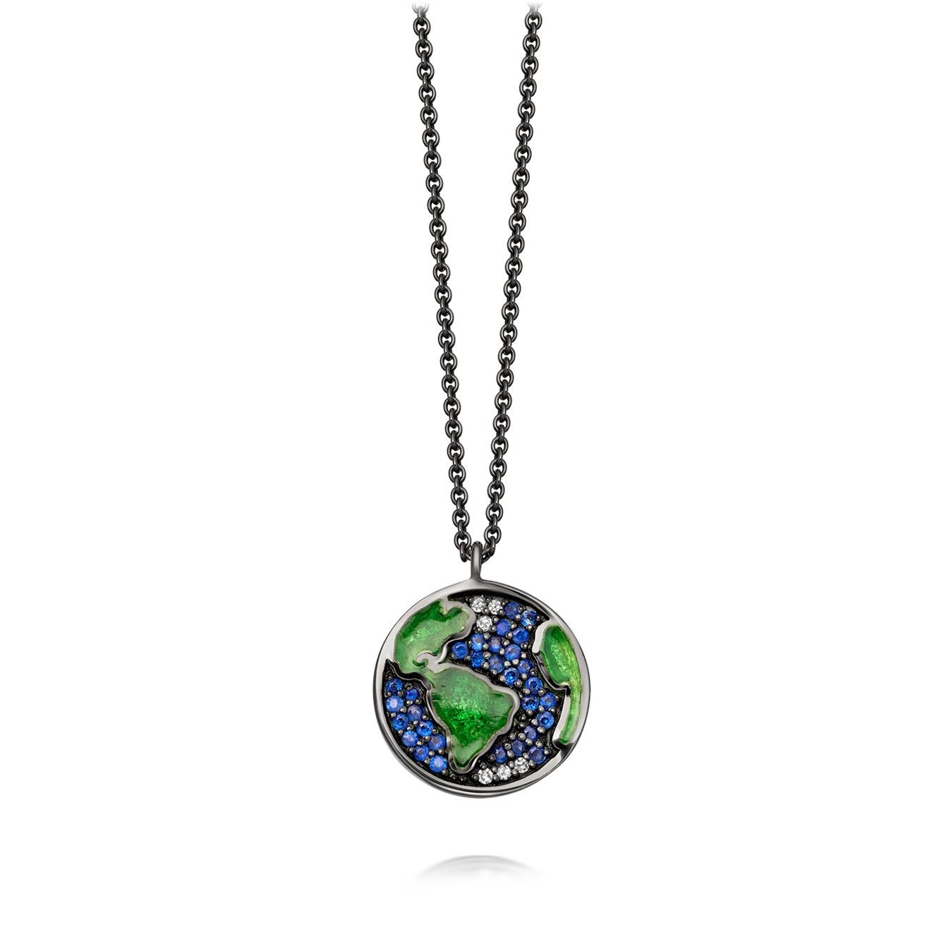 Mini Earth Pendant