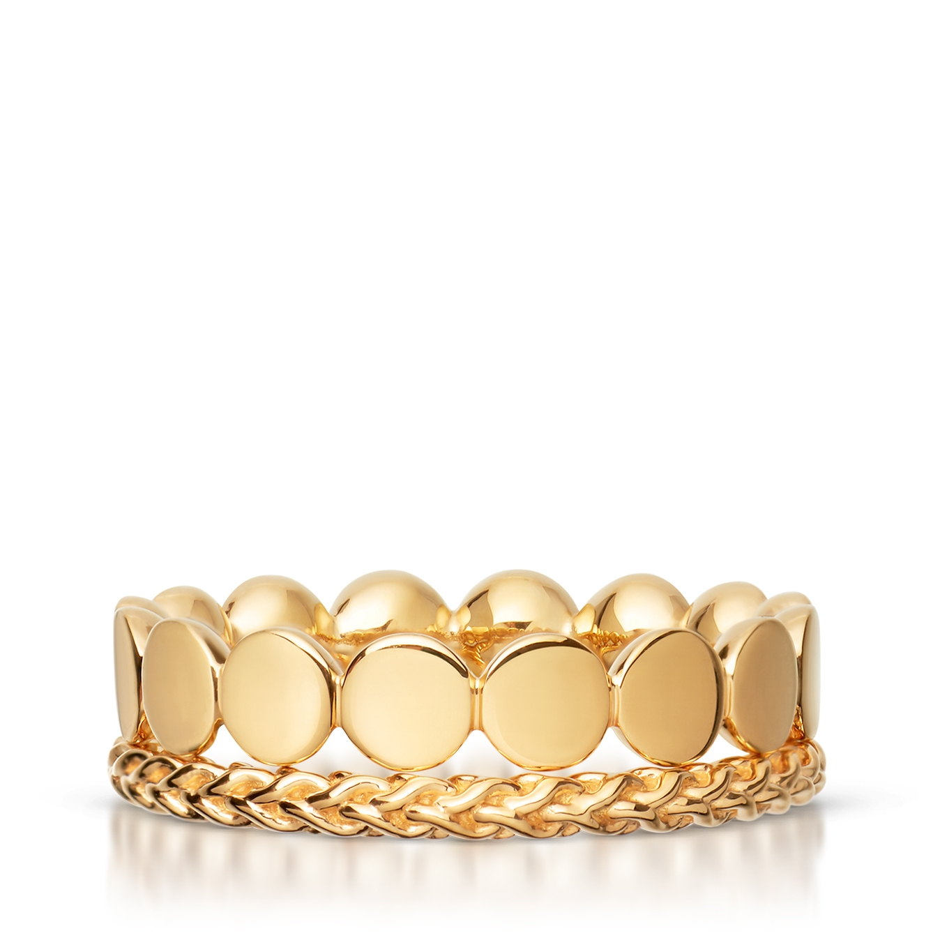 Yellow Stilla Ring Stack