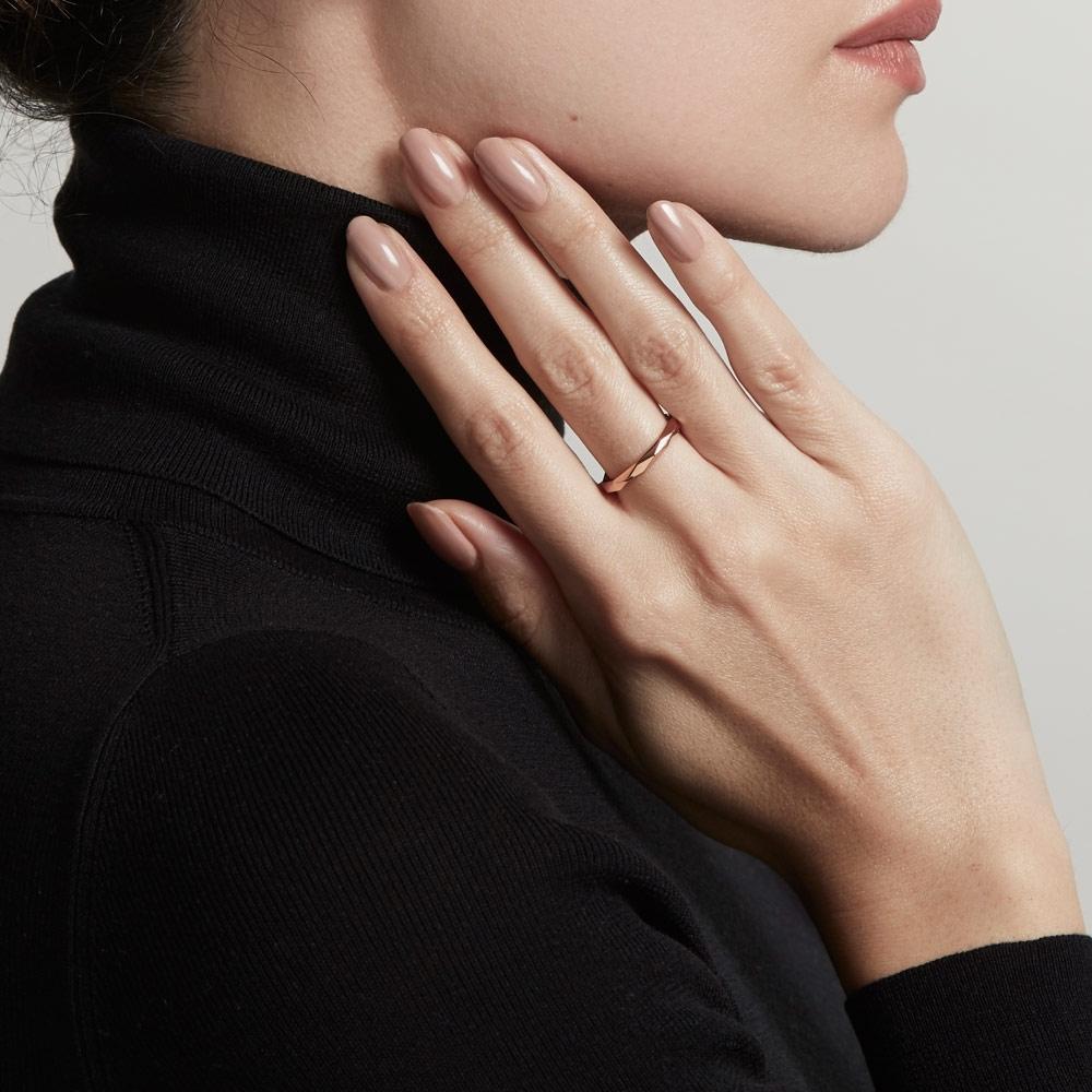 Faceted Prismic Ring