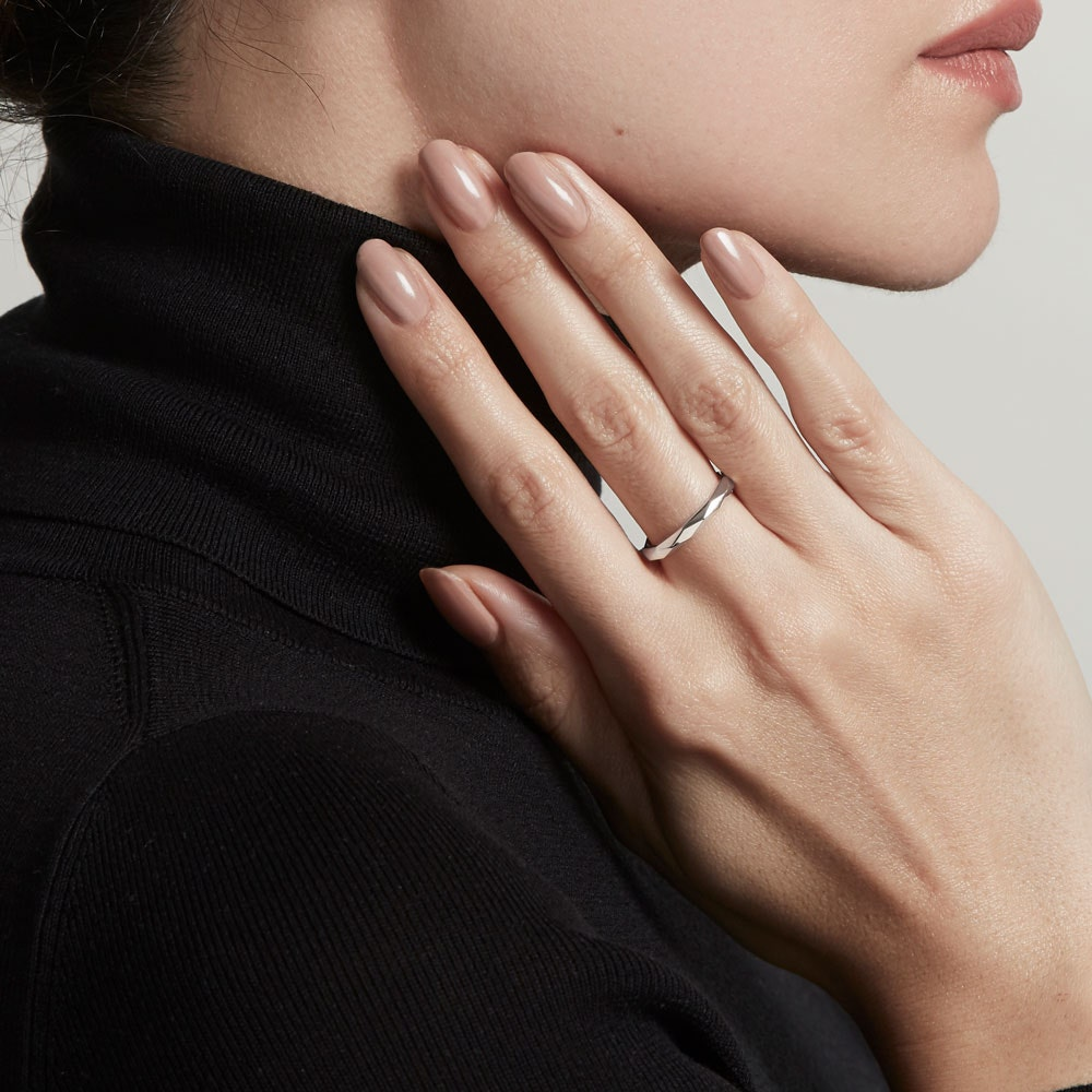 Faceted Prismic Ring