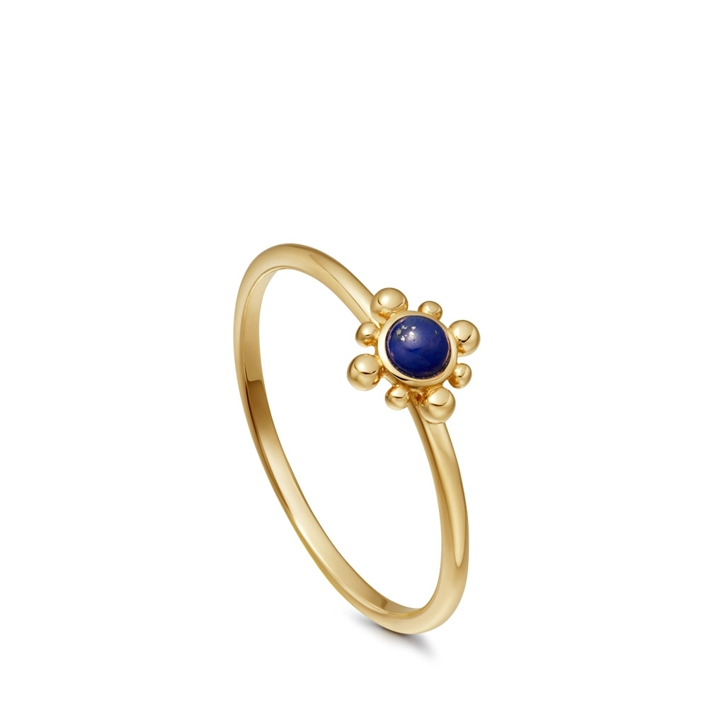 Lapis Mini Floris Ring