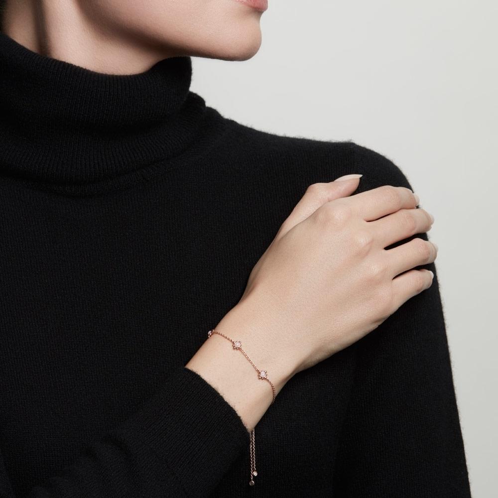 Pink Opal Floris Kula Bracelet