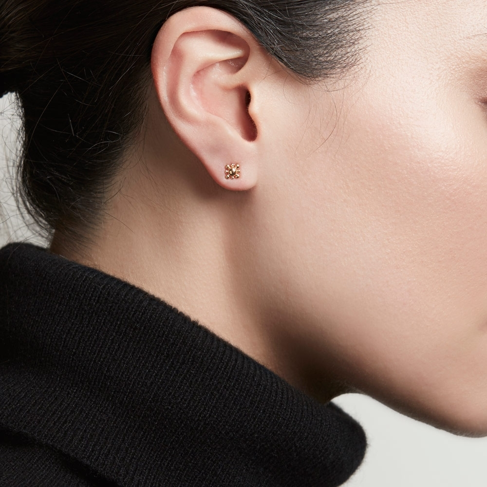 Mini Floris Stud Earrings