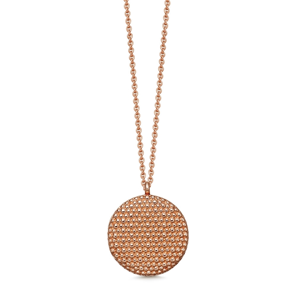 Mille Rose Gold Locket Necklace