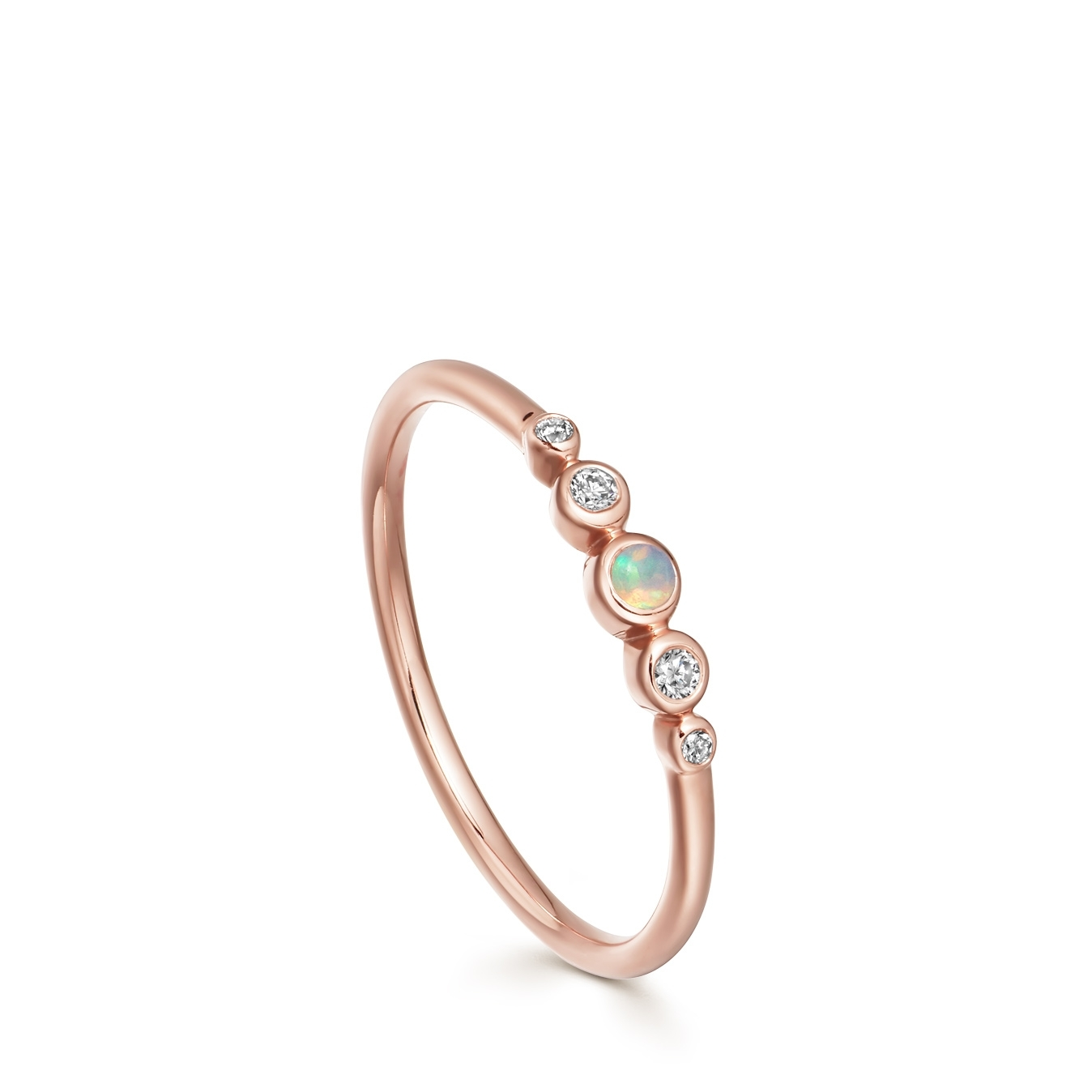 Mini Icon Nova Opal Ring