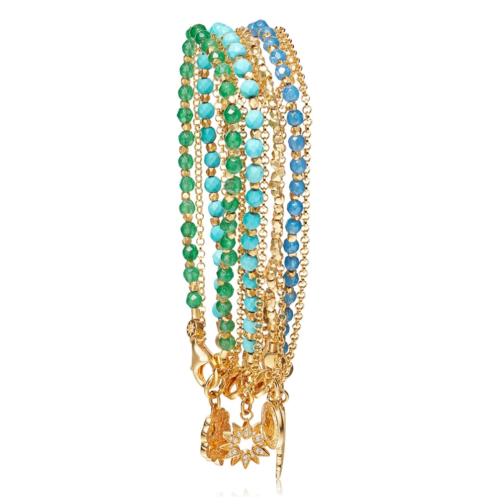 The Summer Elements Bracelet Stack