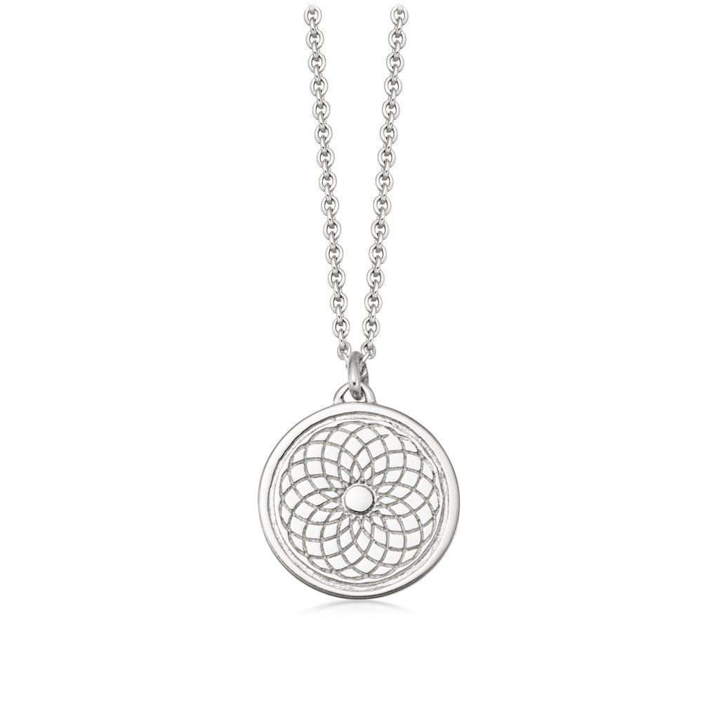 Celestial Radial Pendant Necklace