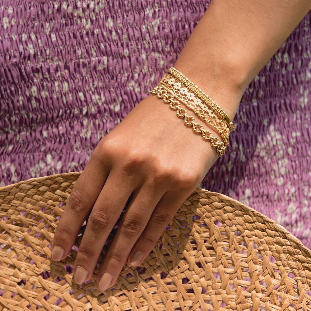 Stilla Arc Chain Bracelet