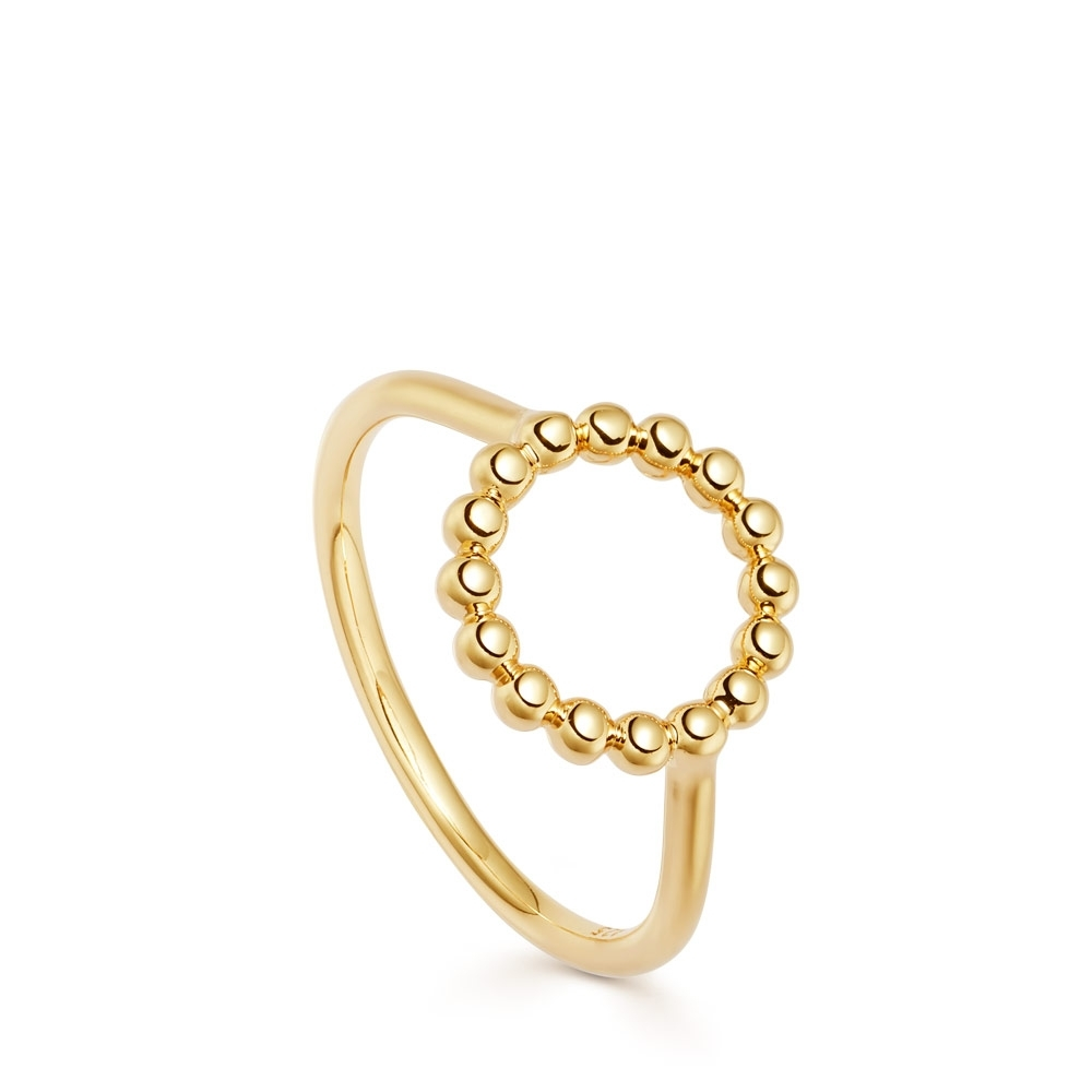 Stilla Arc Beaded Ring