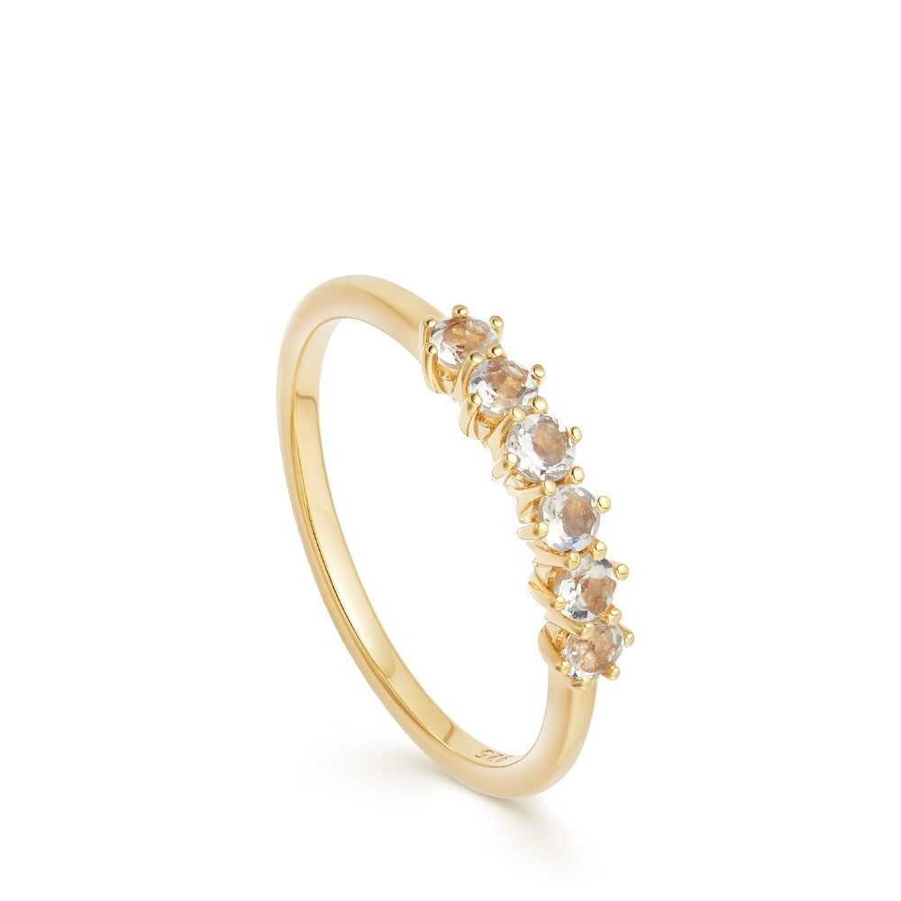 Linia Rainbow Moonstone Ring