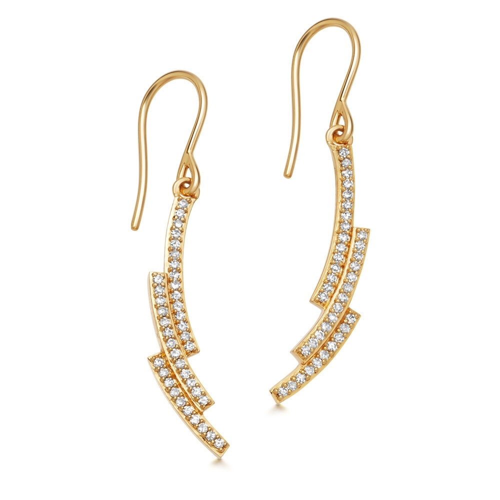 Icon Scala Diamond Drop Earrings