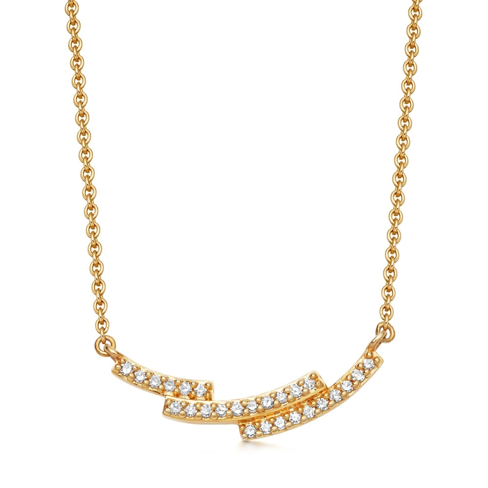 Icon Scala Diamond Necklace