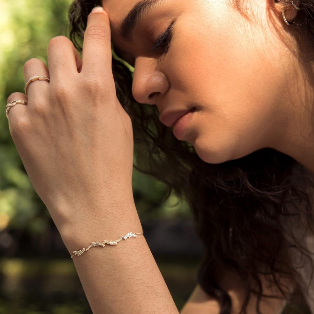 Icon Scala Diamond Bracelet