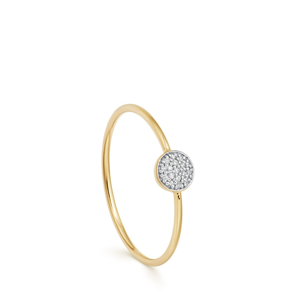 Icon Diamond Stacking Ring