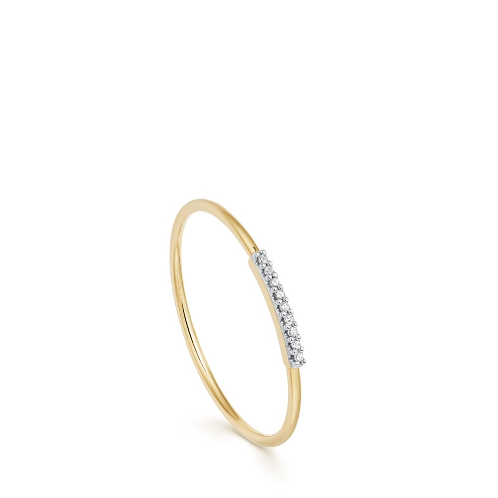 Muse Diamond Stacking Ring