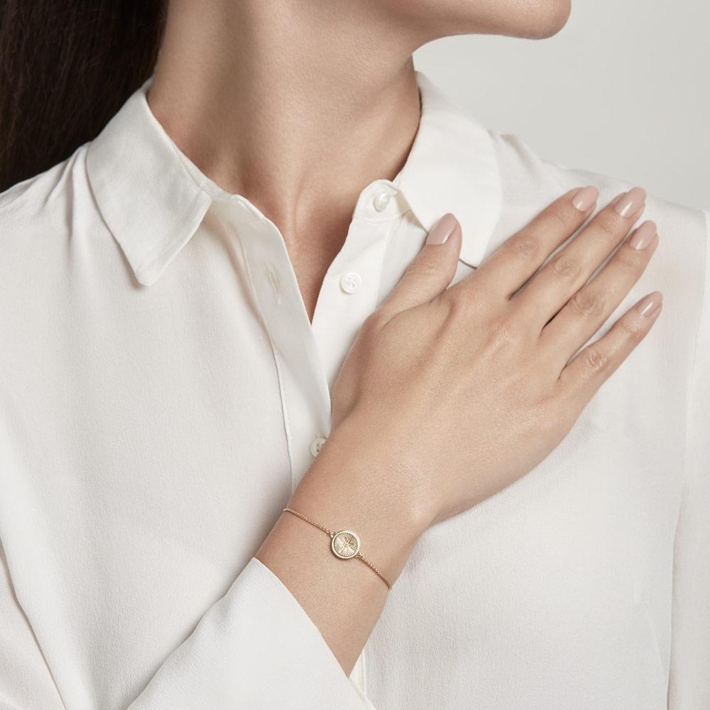 Celestial Compass Kula Gold Bracelet