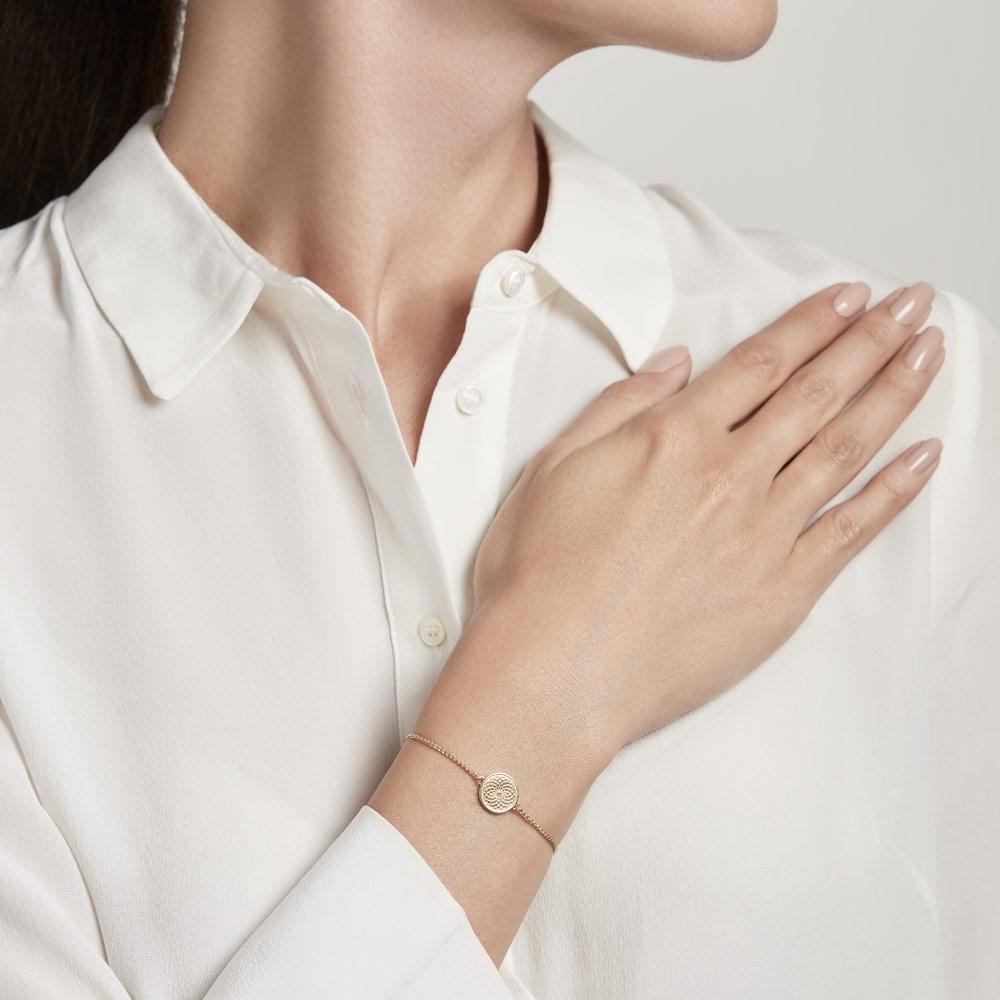 Celestial Radial Kula Gold Bracelet