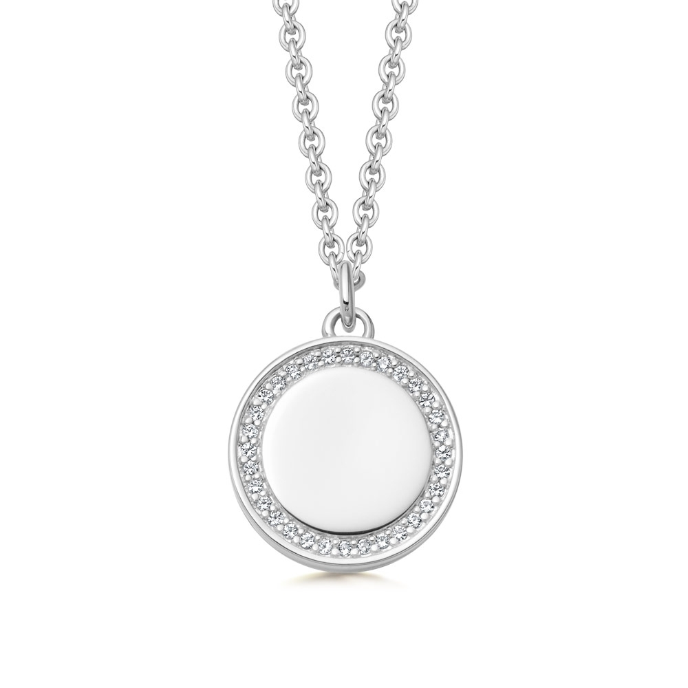 Biography Cosmos Locket Necklace