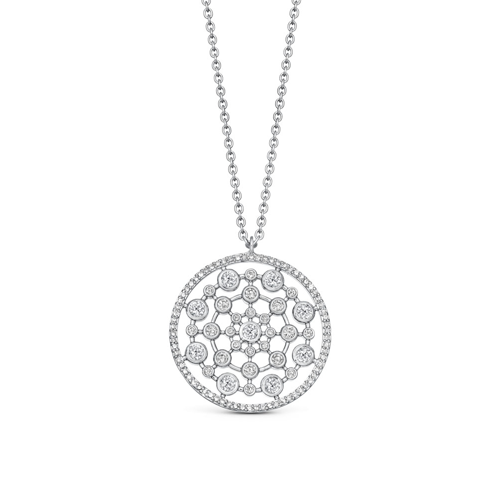 Large Icon Nova Diamond Pendant Necklace
