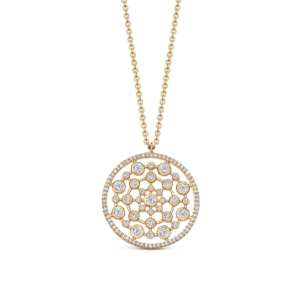 Large Icon Nova Diamond Pendant