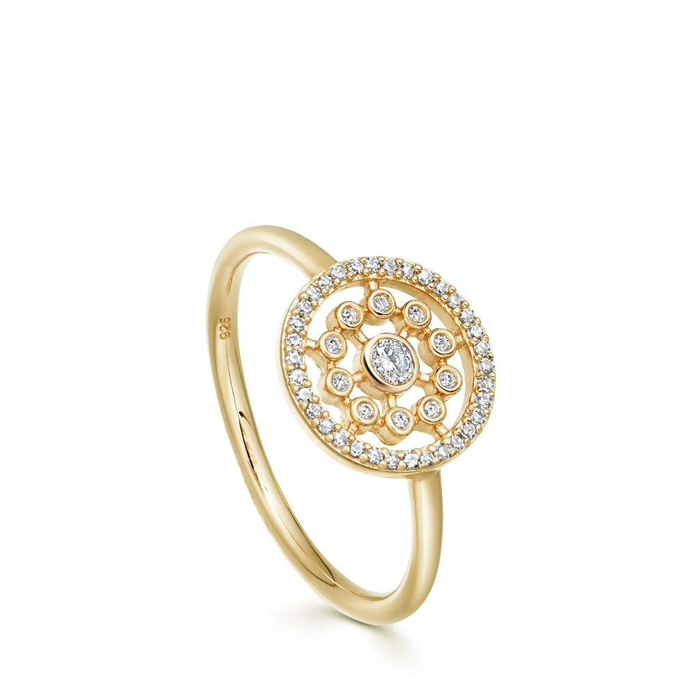 Medium Icon Nova Diamond Ring