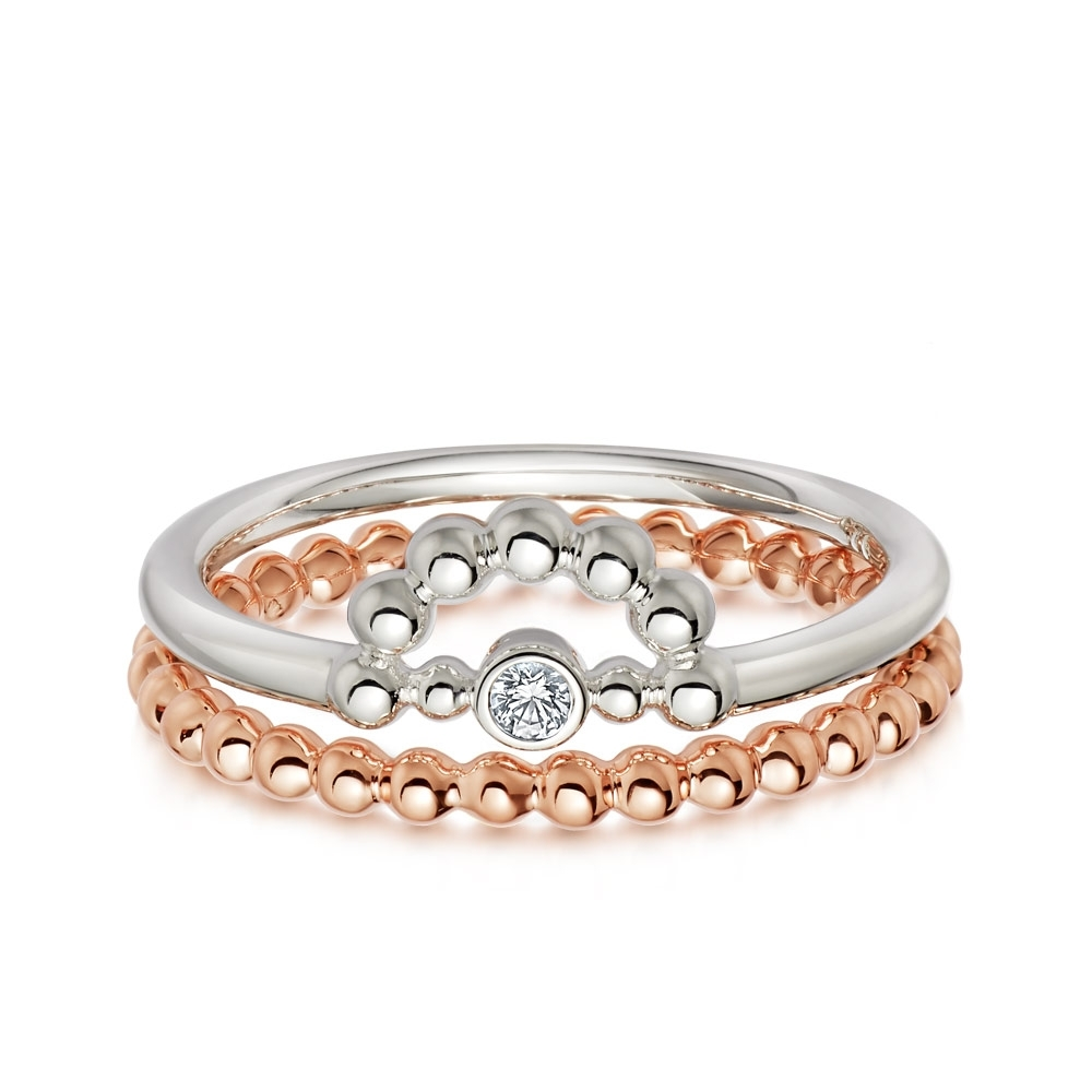 Rose & Shine Ring Stack